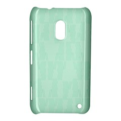 Line Blue Chevron Nokia Lumia 620 by Mariart