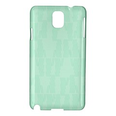 Line Blue Chevron Samsung Galaxy Note 3 N9005 Hardshell Case by Mariart