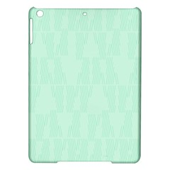 Line Blue Chevron Ipad Air Hardshell Cases by Mariart