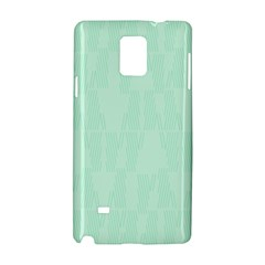 Line Blue Chevron Samsung Galaxy Note 4 Hardshell Case by Mariart