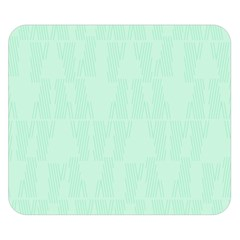 Line Blue Chevron Double Sided Flano Blanket (small)  by Mariart