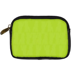 Line Green Digital Camera Cases by Mariart
