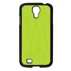 Line Green Samsung Galaxy S4 I9500/ I9505 Case (black) by Mariart