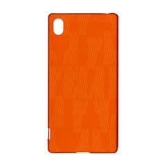 Line Orange Sony Xperia Z3+ by Mariart