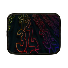 Neon Number Netbook Case (small)  by Mariart