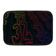 Neon Number Netbook Case (medium)  by Mariart
