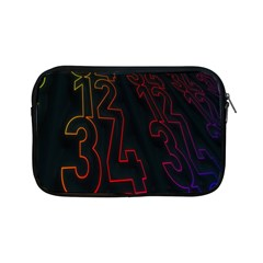 Neon Number Apple Ipad Mini Zipper Cases by Mariart