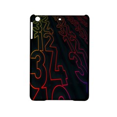 Neon Number Ipad Mini 2 Hardshell Cases by Mariart