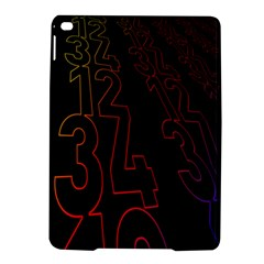 Neon Number Ipad Air 2 Hardshell Cases by Mariart