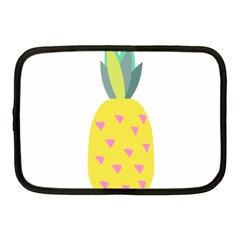 Pineapple Fruite Yellow Triangle Pink Netbook Case (medium)  by Mariart