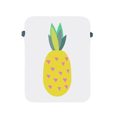 Pineapple Fruite Yellow Triangle Pink Apple Ipad 2/3/4 Protective Soft Cases by Mariart