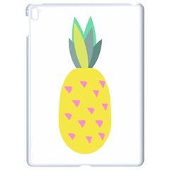 Pineapple Fruite Yellow Triangle Pink Apple Ipad Pro 9 7   White Seamless Case by Mariart