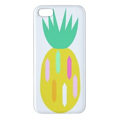 Pineapple Fruite Yellow Triangle Pink White Iphone 5s/ Se Premium Hardshell Case by Mariart