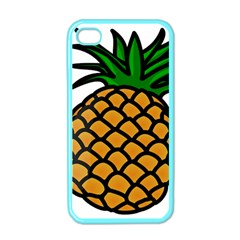 Pineapple Fruite Yellow Green Orange Apple Iphone 4 Case (color) by Mariart