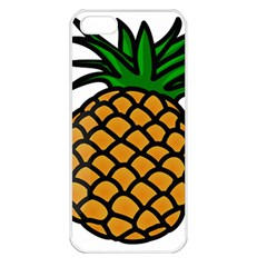 Pineapple Fruite Yellow Green Orange Apple Iphone 5 Seamless Case (white) by Mariart