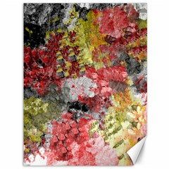 Garden Abstract Canvas 36  X 48   by theunrulyartist