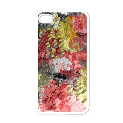 Garden Abstract Apple Iphone 4 Case (white) by theunrulyartist