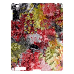 Garden Abstract Apple Ipad 3/4 Hardshell Case by theunrulyartist
