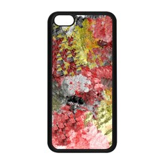 Garden Abstract Apple Iphone 5c Seamless Case (black) by theunrulyartist