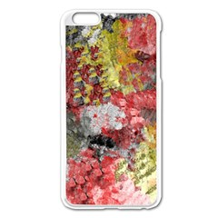 Garden Abstract Apple Iphone 6 Plus/6s Plus Enamel White Case