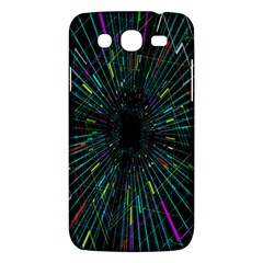 Colorful Geometric Electrical Line Block Grid Zooming Movement Samsung Galaxy Mega 5 8 I9152 Hardshell Case  by Mariart