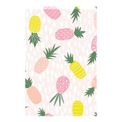 Pineapple Rainbow Fruite Pink Yellow Green Polka Dots Shower Curtain 48  X 72  (small)  by Mariart