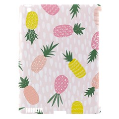Pineapple Rainbow Fruite Pink Yellow Green Polka Dots Apple Ipad 3/4 Hardshell Case (compatible With Smart Cover) by Mariart
