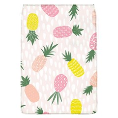 Pineapple Rainbow Fruite Pink Yellow Green Polka Dots Flap Covers (l)  by Mariart