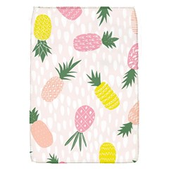 Pineapple Rainbow Fruite Pink Yellow Green Polka Dots Flap Covers (s)  by Mariart