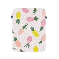 Pineapple Rainbow Fruite Pink Yellow Green Polka Dots Apple Ipad 2/3/4 Protective Soft Cases by Mariart