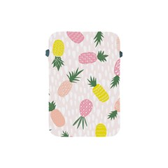 Pineapple Rainbow Fruite Pink Yellow Green Polka Dots Apple Ipad Mini Protective Soft Cases by Mariart