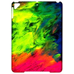 Neon Rainbow Green Pink Blue Red Painting Apple Ipad Pro 9 7   Hardshell Case by Mariart