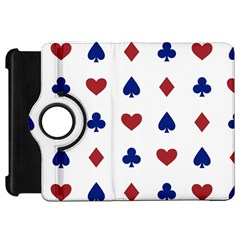Playing Cards Hearts Diamonds Kindle Fire Hd 7  by Mariart