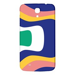 Rainbow Pink Yellow Bluw Green Rainbow Samsung Galaxy Mega I9200 Hardshell Back Case by Mariart