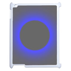 Pure Energy Black Blue Hole Space Galaxy Apple Ipad 2 Case (white) by Mariart