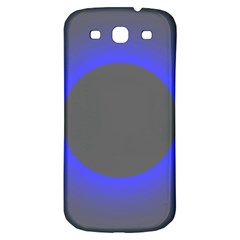 Pure Energy Black Blue Hole Space Galaxy Samsung Galaxy S3 S Iii Classic Hardshell Back Case by Mariart