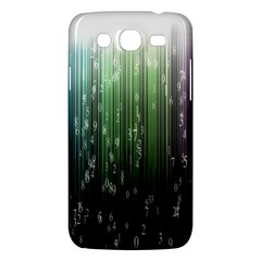 Numerical Animation Random Stripes Rainbow Space Samsung Galaxy Mega 5 8 I9152 Hardshell Case  by Mariart