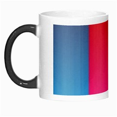 Rainbow Stripes Vertical Lines Colorful Blue Pink Orange Green Morph Mugs by Mariart