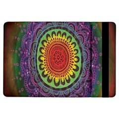 Rainbow Mandala Circle Ipad Air Flip by Mariart