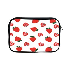 Red Fruit Strawberry Pattern Apple Ipad Mini Zipper Cases by Mariart