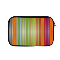 Rainbow Stripes Vertical Colorful Bright Apple Macbook Pro 13  Zipper Case by Mariart