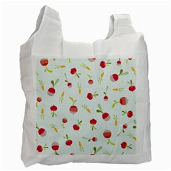 Root Vegetables Pattern Carrots Recycle Bag (one Side) by Mariart