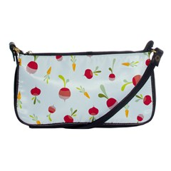 Root Vegetables Pattern Carrots Shoulder Clutch Bags by Mariart
