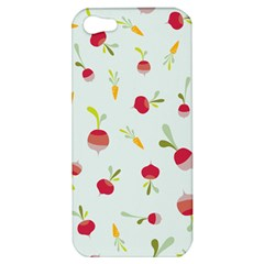 Root Vegetables Pattern Carrots Apple Iphone 5 Hardshell Case by Mariart