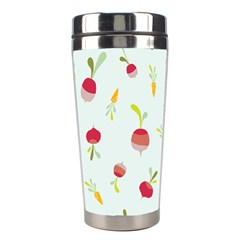 Root Vegetables Pattern Carrots Stainless Steel Travel Tumblers by Mariart