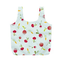 Root Vegetables Pattern Carrots Full Print Recycle Bags (m)  by Mariart