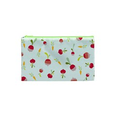 Root Vegetables Pattern Carrots Cosmetic Bag (xs) by Mariart