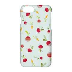 Root Vegetables Pattern Carrots Apple Iphone 7 Hardshell Case by Mariart