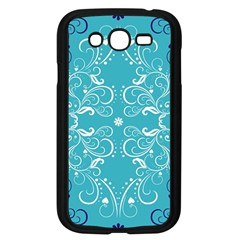 Repeatable Patterns Shutterstock Blue Leaf Heart Love Samsung Galaxy Grand Duos I9082 Case (black) by Mariart