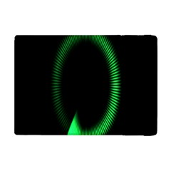 Rotating Ring Loading Circle Various Colors Loop Motion Green Apple Ipad Mini Flip Case by Mariart
